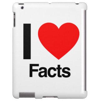 i love facts iPad case