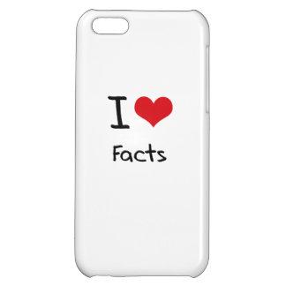 I Love Facts iPhone 5C Case