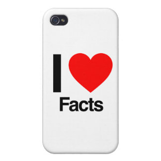 i love facts covers for iPhone 4