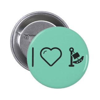 I Love Fair Rides 2 Inch Round Button