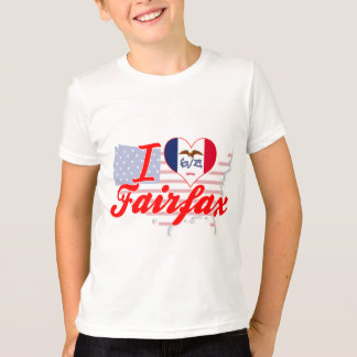 I Love Fairfax, Iowa T-Shirt