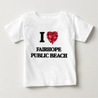 I love Fairhope Public Beach Alabama Tee Shirts