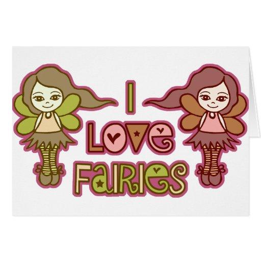 I Love Fairies Cards