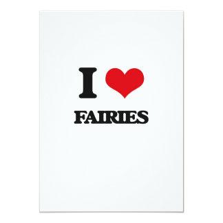 I love Fairies Card