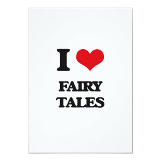 I love Fairy Tales Cards