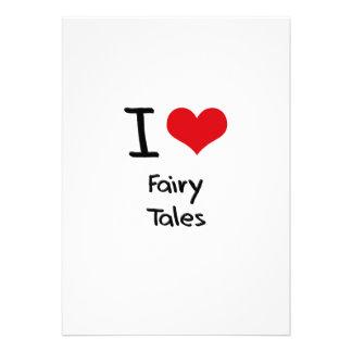 I Love Fairy Tales Cards