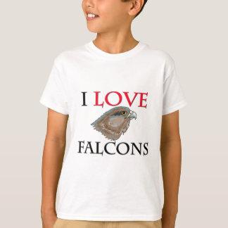 I Love Falcons Shirt