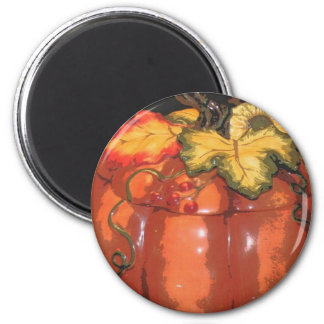 I LOVE FALL 6 CM ROUND MAGNET