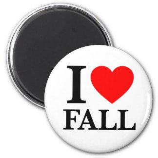 I Love Fall Fridge Magnet