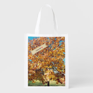 I Love Fall Reusable Tote
