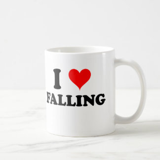I Love Falling Coffee Mug