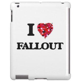 I Love Fallout iPad Case