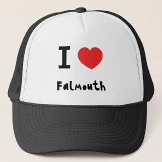 I love Falmouth Trucker Hat