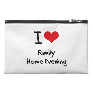 I Love Family Home Evening Travel Accessories Bag