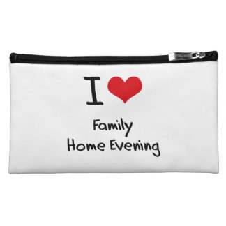 I Love Family Home Evening Cosmetic Bag