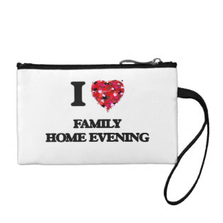I Love Family Home Evening Coin Purse