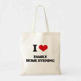 I love Family Home Evening Budget Tote Bag