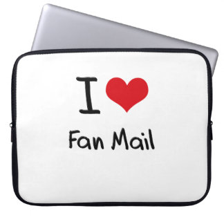I Love Fan Mail Computer Sleeves