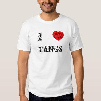 I love Fangs T Shirts