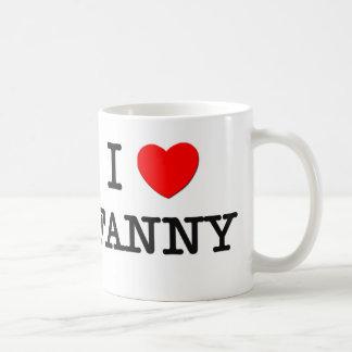 I Love Fanny Coffee Mug