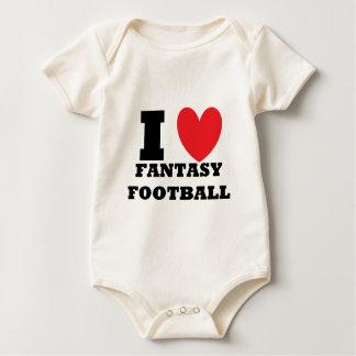 I Love Fantasy Football Baby Bodysuit