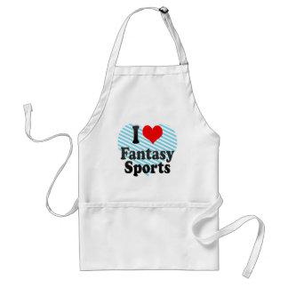 I love Fantasy Sports Aprons