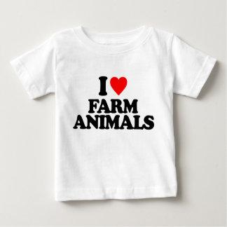 I LOVE FARM ANIMALS TEE SHIRT