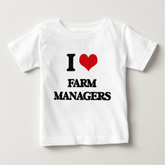 I love Farm Managers T-shirt