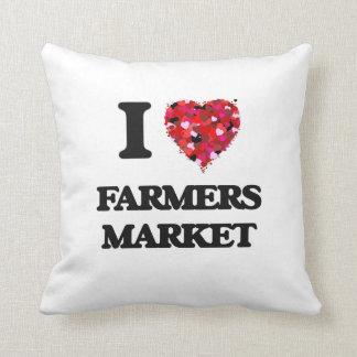 I Love Farmers Market Cushions