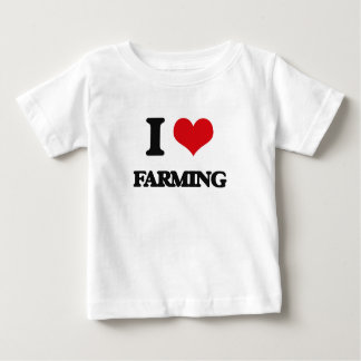 I Love Farming T Shirts