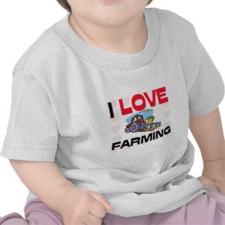 I Love Farming Shirt