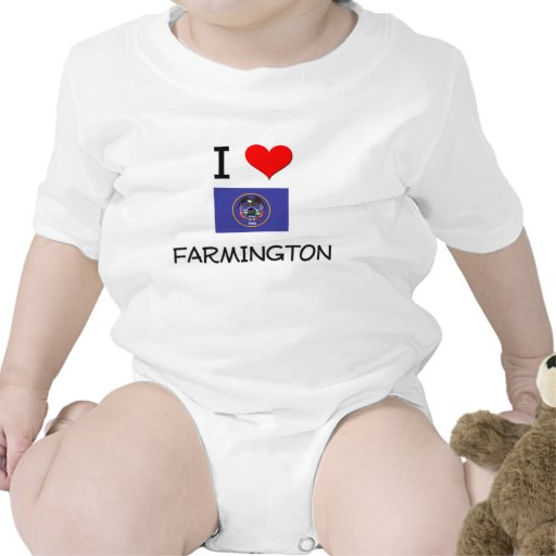 I Love Farmington Utah Romper