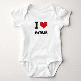 I love Farms Tee Shirt