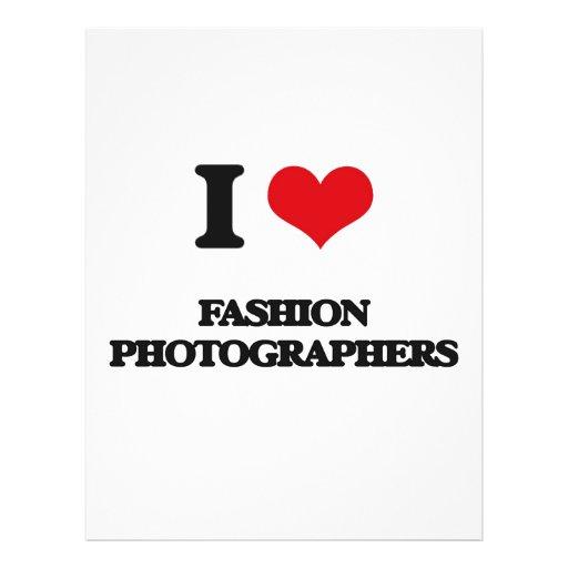 I love Fashion Photographers Full Color Flyer