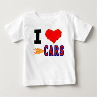 I Love Fast Cars Baby T-Shirt