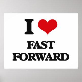 I love Fast Forward Print