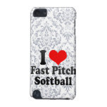 I love Fast Pitch Softball iPod Touch (5th Generation) Case