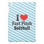 I love Fast Pitch Softball iPad Mini Cases