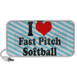 I love Fast Pitch Softball Portable Speakers