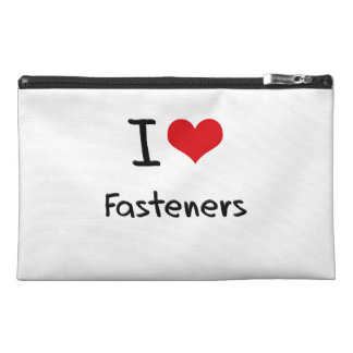 I Love Fasteners Travel Accessory Bags