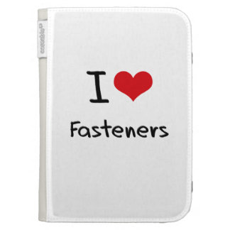 I Love Fasteners Kindle 3G Cover
