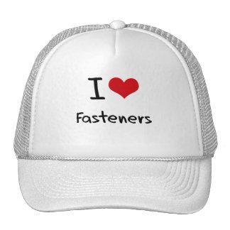 I Love Fasteners Hats
