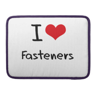 I Love Fasteners MacBook Pro Sleeve