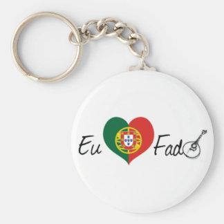 I Love Fate Key Ring