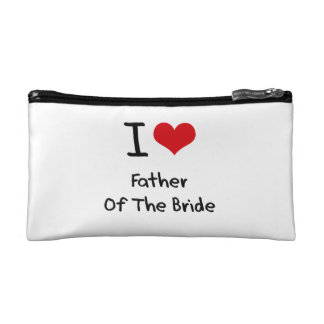 I Love Father Of The Bride Makeup Bag