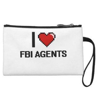 I love Fbi Agents Wristlet Clutches