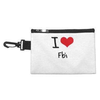 I Love Fbi Accessory Bags