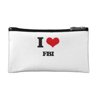 I love Fbi Cosmetic Bags
