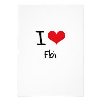 I Love Fbi Announcements