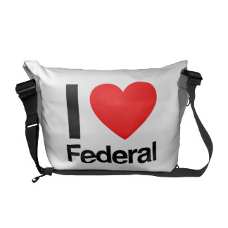 i love federal courier bag